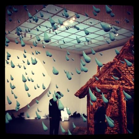 urs fischer exhibit . moca grand . photo by stacy elaine dacheux
