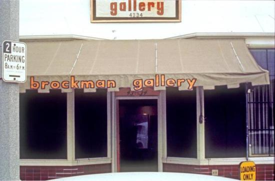 Brockman Gallery, Degnan Blvd., Leimart Park, Los Angeles, c. 1967