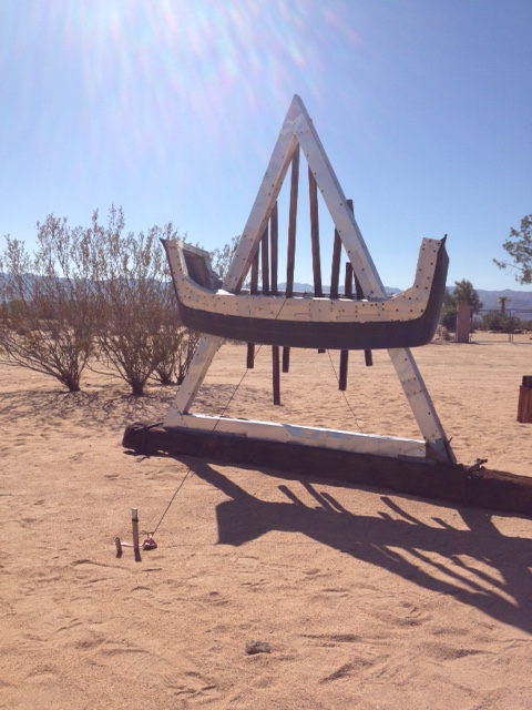 Noah Purifoy Outdoor Desert Art Museum . Noah Purifoy . Photo by Stacy Elaine Dacheux . 2015