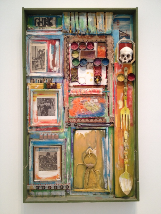 Junk Dada at LACMA . Noah Purifoy . photo by Adrienne Walser . 2015
