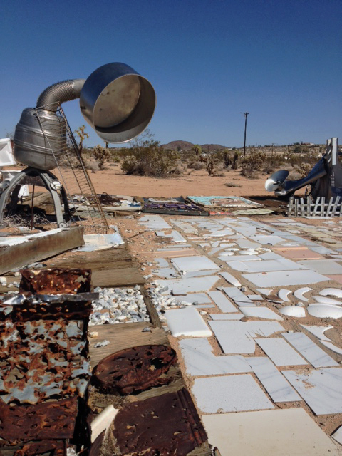 Noah Purifoy Outdoor Desert Art Museum . Photo by Stacy Elaine Dacheux . 2013