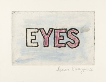 eyes . 2004 . louise bourgeois . courtesy of MoMA